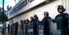 Policía Federal ocupa instalaciones del IEEPO (Fotos) - Aristegui Noticias