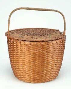 Basket with lid, Shaker