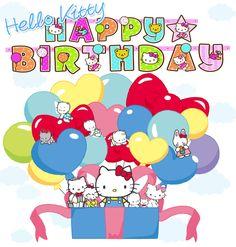 14 best birthdays images on pinterest happy birthday pictures happy birthday clip art happy birthday hello kitty m4hsunfo