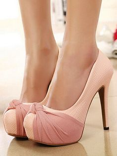 Adorable Bow High heels Shoes