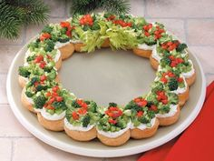 19 Perfect Christmas Appetizers - Click image to find more popular food & drink Pinterest pins