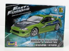 Fast & Furious Brian's Eclipse Revell 85-4384 1/25 New Car Model Kit