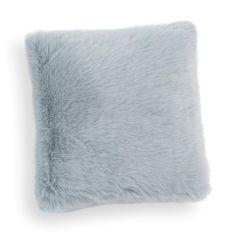 Housse de coussin en fausse fourrure bleue 38 x 38 cm  SAMOENS 19,99 €