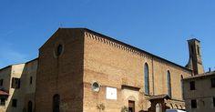 Igreja de Santo Agostinho em San Gimignano #viajar #viagem #itália #italy