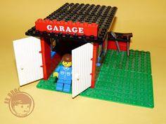 En broc lego 1966 car repair shop 1985 lego for Garage sena auto
