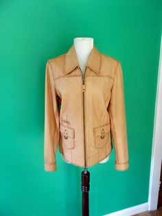 The Territory Ahead Women's 100% Genuine Leather Jacket Sz