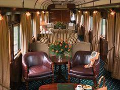 Rovos Rail, by train through Africa...!