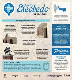 Ven a recorrer con nosotros el Municipio de #Escobedo Nuevo León y descubre su #PATRIMONIO! Este sábado 13 de febrero vamos a conocer templos museos esculturas gastronomía y más. La salida es a las 9:00 h en el Teatro de la Ciudad (por la calle Dr. Coss).