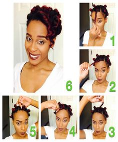 Check out the results of a bantu knot using JessiCurl... Type 4 curlies =)
