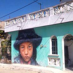 Street era in Holbox island  Mexico #streetart #urbanart #arteurbano #mexicano #grafity #graffiti #графити #мексика #олбош by grafity_art