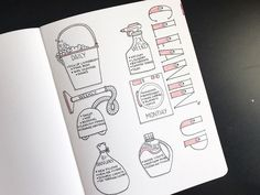 13 Brilliant Bullet Journal Cleaning Schedule Ideas ⋆ The Petite Planner - 13 Brilliant Bullet Journal Cleaning Schedule Ideas – The Petite Planner - Bullet Journal Goals Page, Bullet Journal Books, Bullet Journal Inspiration, Book Journal, Journal Ideas, Bullet Journal Cleaning Schedule, Cleaning Checklist, Housework Schedule, Cleaning Quotes
