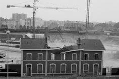 1981 juin Démolition de l'ancienne gare de Lyon Part-Dieu