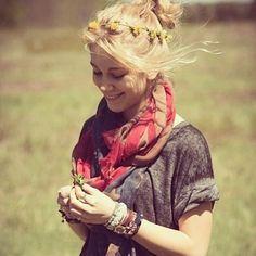 .@Free People | The perfect accessory for the weekend - our Tattered Flag Scarf! Photo via @freepeoplefarmington
