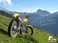 Trial Bike, Trail Riding, Alps, Trials, Wheels, Motorcycle, Events, Classic, Branding
