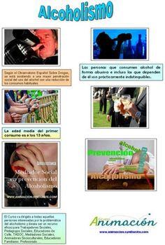 #Cursos Alcoholismo, maltrato, bullying, #alcoholismo