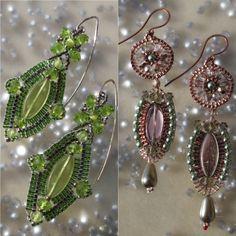 handcrafted earrings by VolkDesign