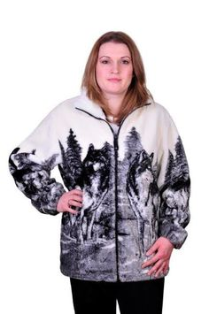 Adult Wolf Clan Jacket – Rosey's Trading Post