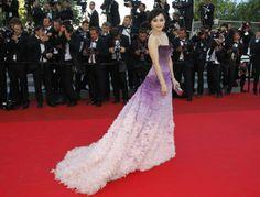 Fan Bingbing de Atelier Versace en el festival de Cannes 2011