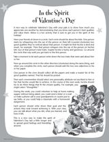 Students demonstrate they know and value each person's best qualities in this thoughtful Valentine's Day activity.