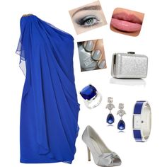 """""""Coctel Azul"""" by ams2chocolate on Polyvore"""