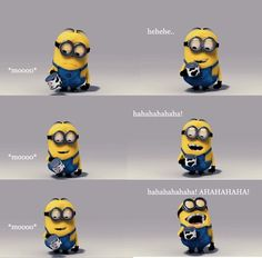 Despicable Me is a movie that I never miss a chance to watch with my kids. We always laugh at those cute, funny Minions. Amor Minions, Minions Love, My Minion, Minions Minions, Minion Stuff, Minions Quotes, Minion Humor, Minion Talk, Minions 2014