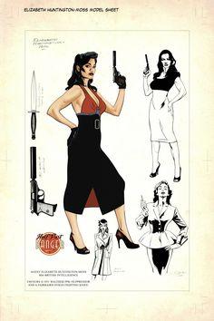 Half Past Danger character design by Stephen Mooney