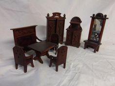 Puppenmöbel Gründerzeit Wohnzimmer