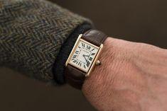 Old Watches, Watches For Men, Cartier Watches, Stud Earrings For Men, Gentleman Watch, Cartier Panthere, Tank Watch, Cartier Tank, Expensive Watches