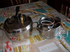 Pentola pressione x distillare idrolati