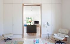 Image 4 of 18 from gallery of St Kilda East House / Clare Cousins Architects. Photograph by Shannon McGrath Architecture Awards, Residential Architecture, Interior Architecture, Clare Cousins, Built In Furniture, Architrave, Vogue Living, St Kilda, Victorian Architecture
