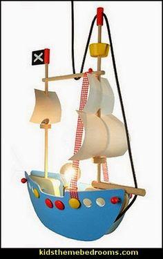 pirate ship ceiling light