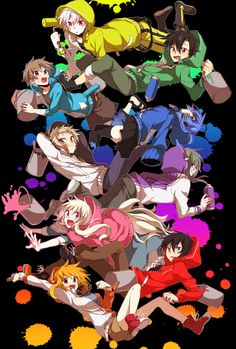 [Day favorite opening] Daze from Mekakucity Actors. Jin's best song, hands down. Nanbaka Anime, Kawaii Anime, Anime Art, Mekakucity Actors Konoha, Vocaloid, Anime Group, Kagerou Project, Anime Characters, Otaku