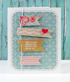 July Card Kit Card - Kristina Werner