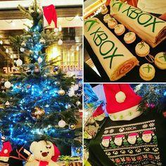 HoHoHo ! Sapin bûche pull kitch : c'était la soirée #Xbox spéciale Noël ! @XboxFR #XboxOne #Microsoft #Christmas #Noel #Noel2016 #gaming #jeuxvideo