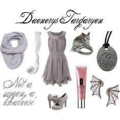"""Daenerys Targaryen"" by johnlockers on Polyvore"