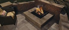 """Acquire excellent recommendations on """"outdoor fire pit party"""". They are readily available for you on our site. Outdoor Steps, Outdoor Fire, Outdoor Living, Outside Fireplace, Fire Pit Party, Hardscape Design, Fire Pit Designs, Landscaping Supplies, Patio Heater"""