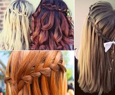 I am totally in love with this, but I seeing as how I can't french braid, I doubt I'd be able to accomplish it.