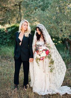 A lovely same sex wedding shoot in the south of France by fine art film wedding photographer, Clayton Austin. film, wedding, France Wedding