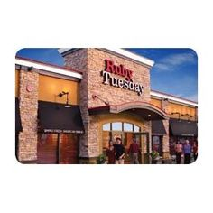 Ruby Tuesday Happy Birthday Gift Card