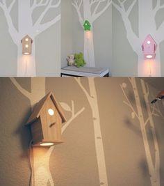 Идея светильника в детскую комнату / Носки, колготки, леггинсы /