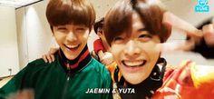 Yuta 유타 悠太 and JaeMin 재민 - NCT 엔씨티
