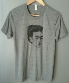 Frida Kahlo T-shirt. Gift Friendly by Lucky120 on Etsy