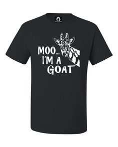 Youth Moo....I'm A Goat Funny Animal T-Shirt