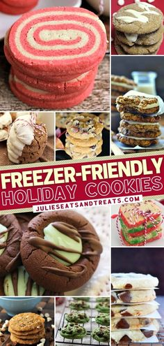 Do you love baking cookies during the holidays but can't eat them right away? These easy and delicious recipes have got you covered! Not only can you make them ahead, but they are also freezer-friendly. Choose your favorites and start planning for Christmas desserts! Baking Cookies, No Bake Cookies, Yummy Cookies, Christmas Desserts Easy, Simple Christmas, Delicious Recipes, Yummy Food, Holiday Tables, Freezer