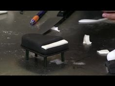 ▶ How to Make a Piano Decoration From Fondant : Fondant Designs - YouTube