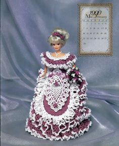 Bridal Dreams Collection 1999 Master Crochet Series Miss February  Crochet Pattern Book Annie Potter