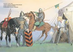 Medieval Russian Armies 1250–1500, Russian Cavalry 1250-1300. Osprey Publishing