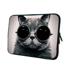 Cool Cat Laptop Case