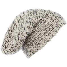 Label Lab Boucle textured beanie (£8) ❤ liked on Polyvore featuring accessories, hats, beanies, headwear, black, clearance, beanie hats, black hat, black beanie and label lab