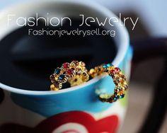 Gold Diamond Earrings - $3.10